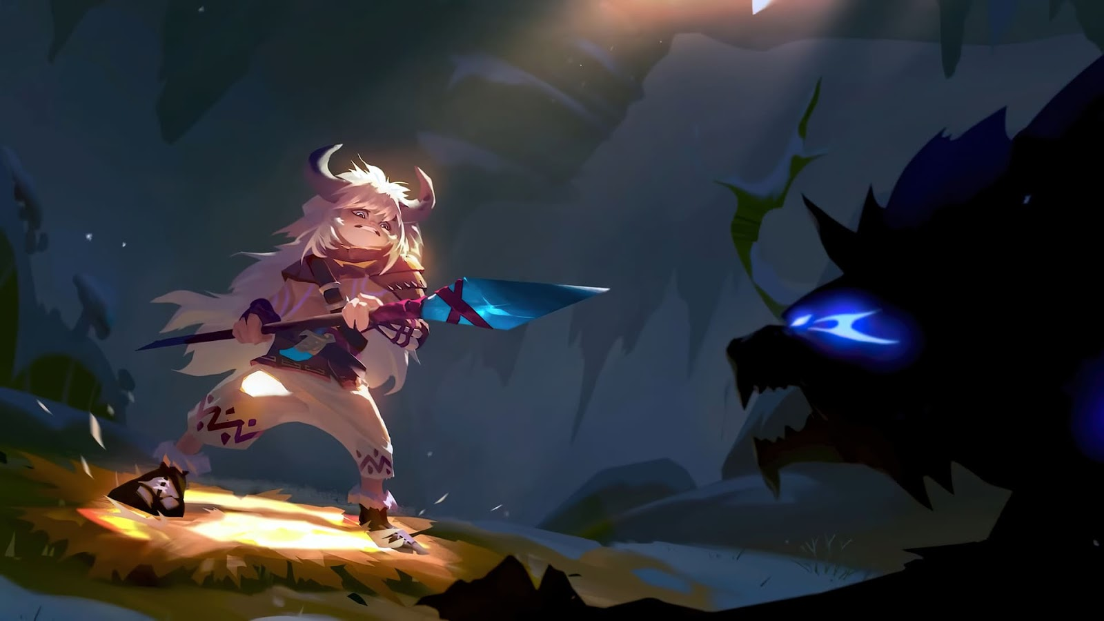 Wallpaper Popol and Kupa Icefield Companions V1 Skin Mobile Legends HD for PC