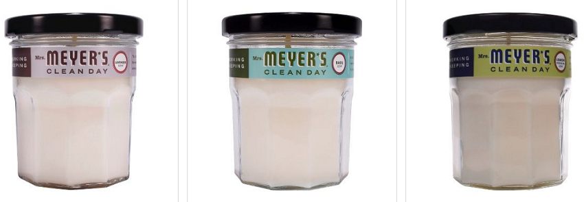 Amazon - Mrs. Meyer's Clean Day Scented Candle only $5.49 (reg $7)