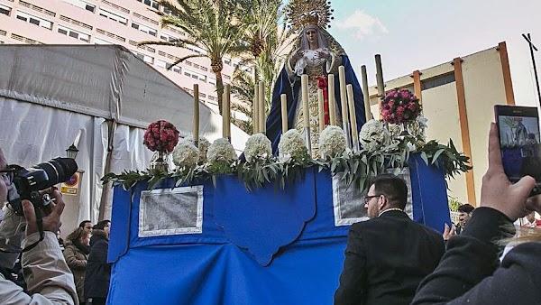 El Obispado disuelve una hermandad de Semana Santa de Alicante