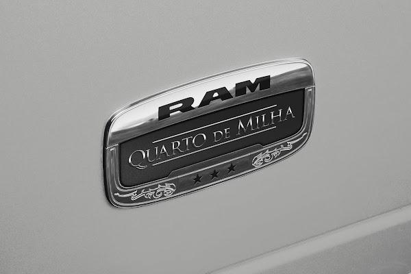 Ram 2500 Quarto de Milha: serie especial lançada e vendida em 1 hora