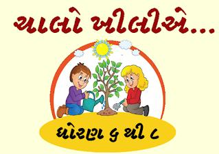 Gujarat STD 6 to 8 Holiday Homework PDF