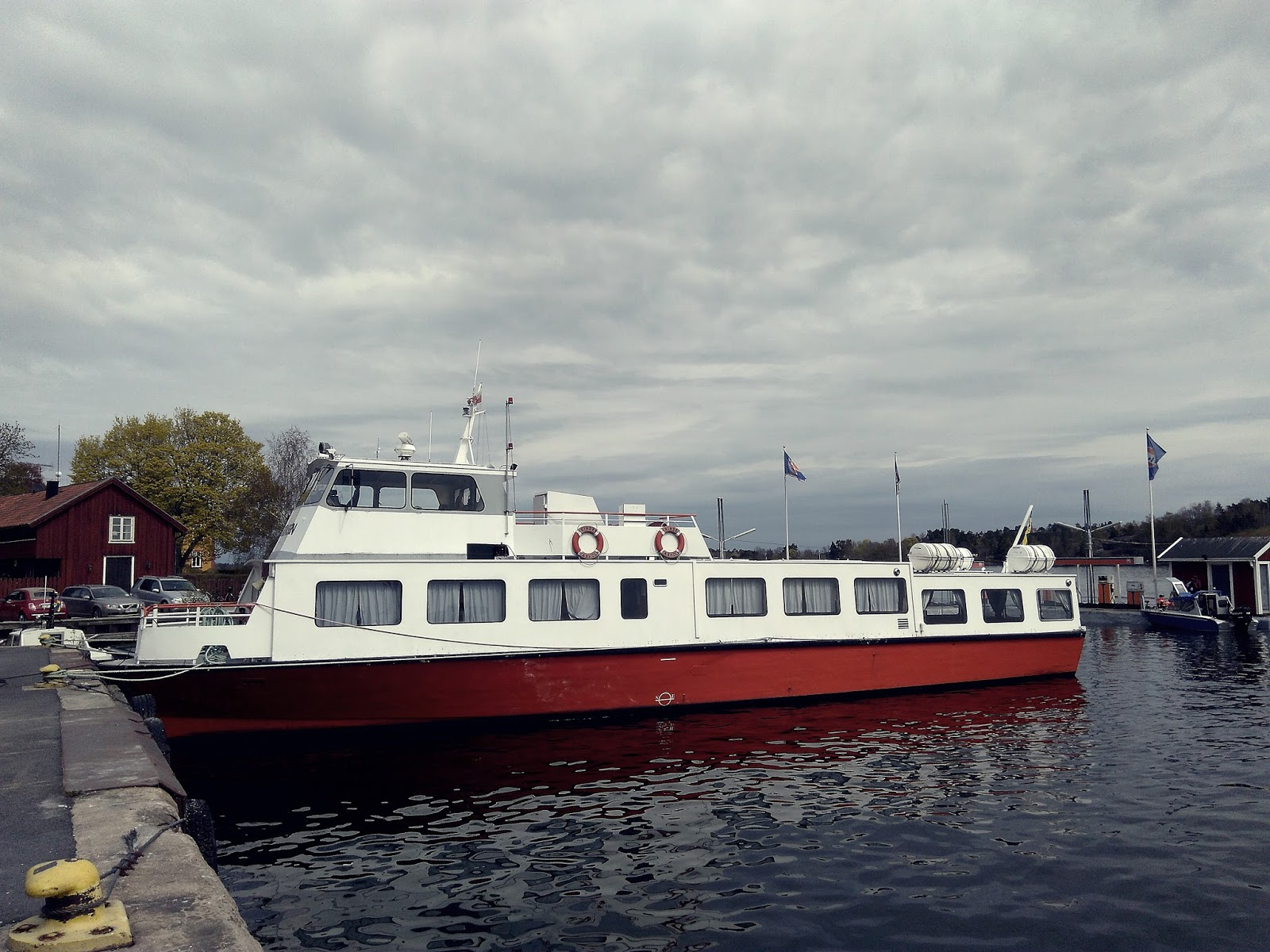 Vaxholm statek
