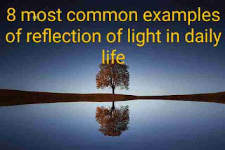 8 most common examples of reflection of light in daily life