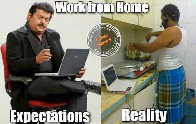 9 Meme Lucu 'Work From Home' Ini Bikin Nyengir Sendiri