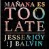 "[News] Ouça ""Mañana Es Too Late"", novo single de Jesse & Joy feat. J. Balvin"