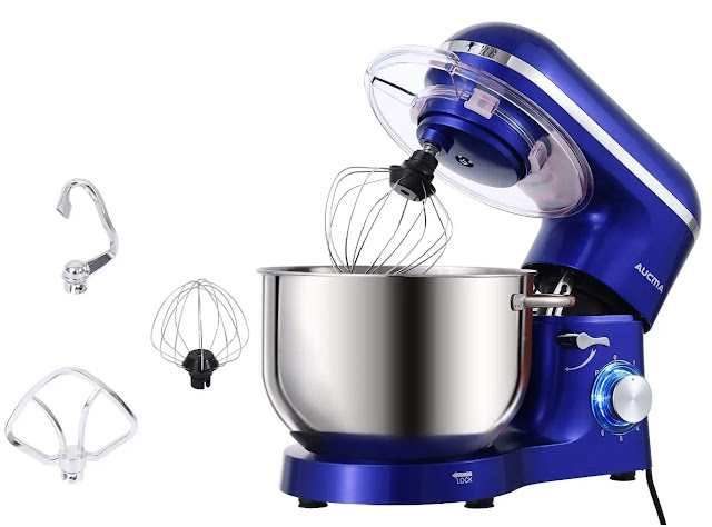 3- Aucma Electric Food Stand Mixer