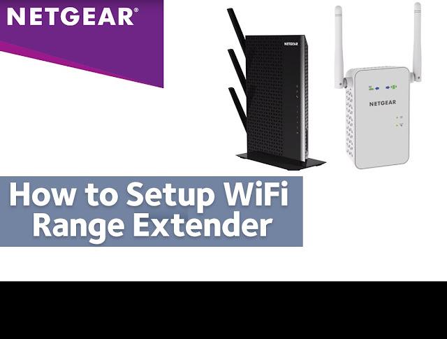 Setup Netgear Range Extender