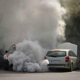 मानव निर्मित वायु प्रदूषण