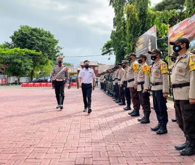 Bupati Bantaeng pimpin upacara apel gelar pasukan