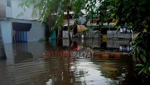 Diguyur Hujan Deras dari Hari Jum'at pagi, Banjir Kembali Merendam Selayar