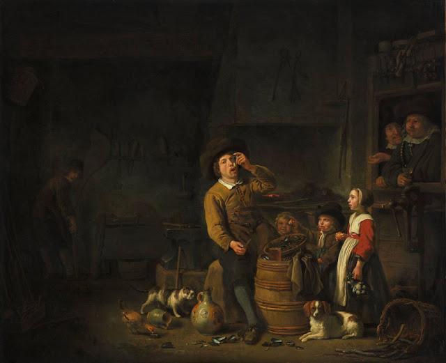 Альберт Кёйп - Едок мидий. ок1650