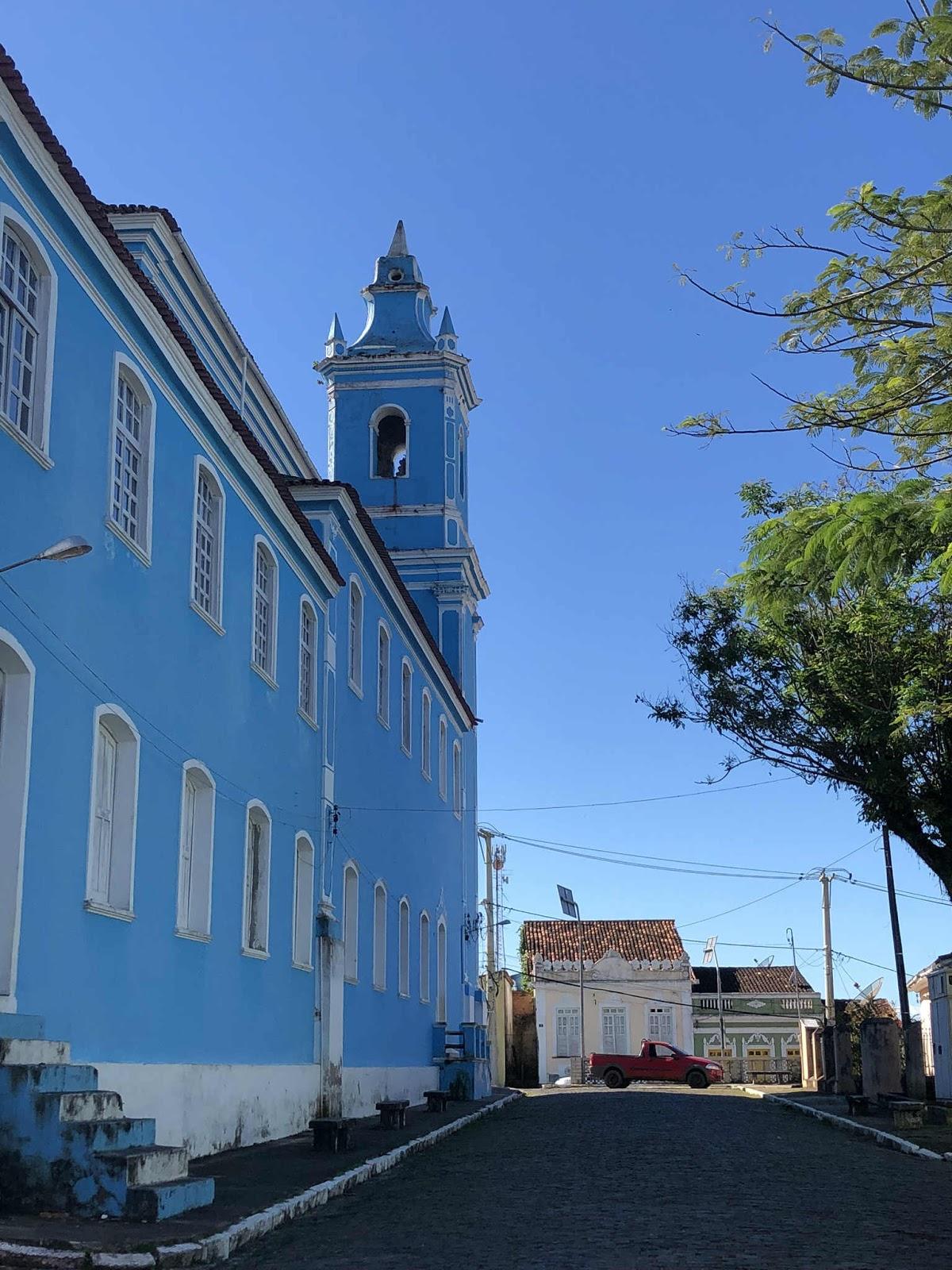 Matriz Nossa Senhora da Assunção (lateral)- Camamu