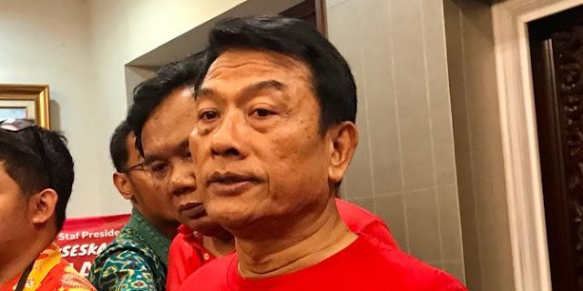 Penjelasan Moeldoko soal TNI dilibatkan berantas teroris