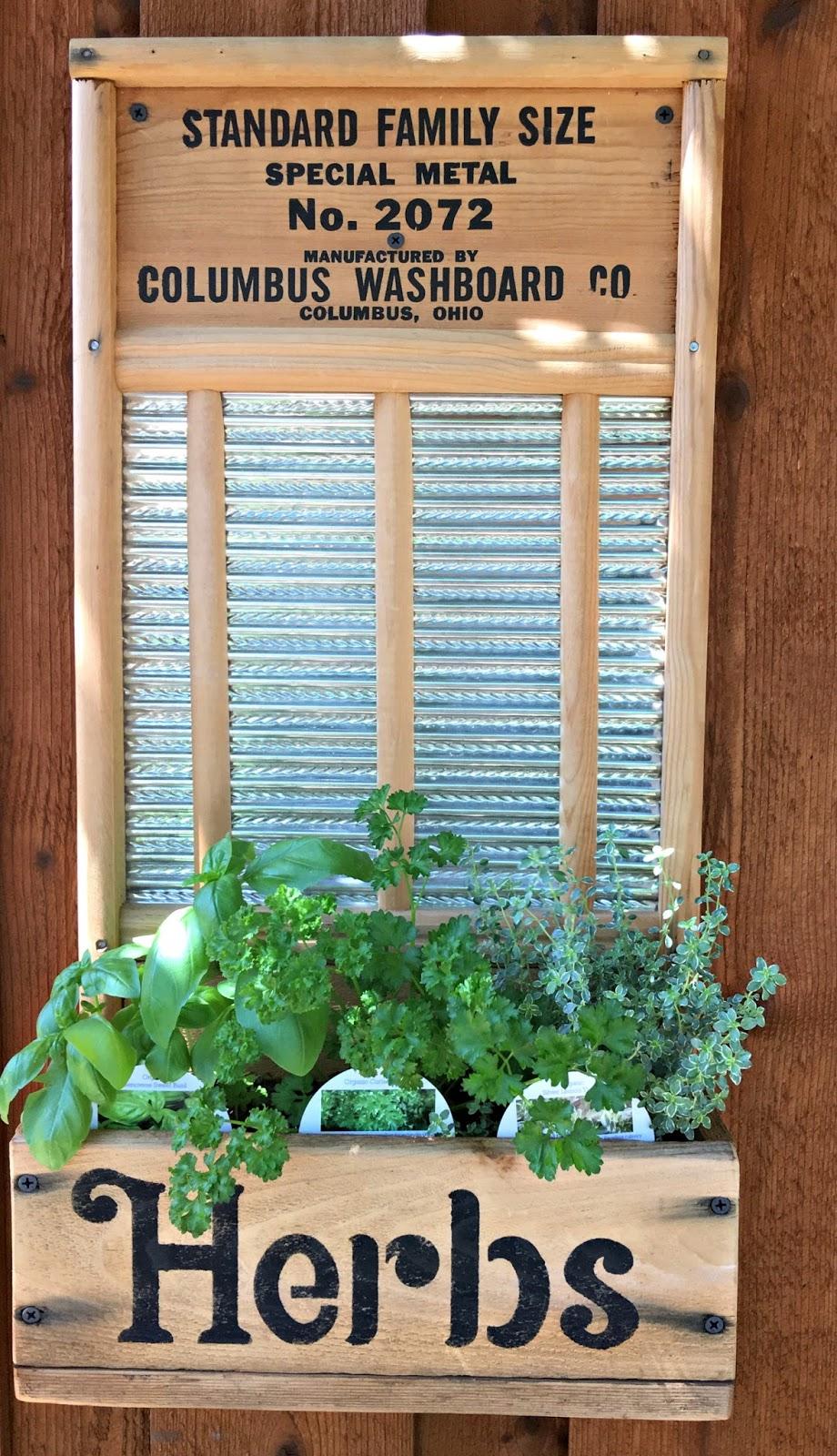 Washboard to Herb Garden - Rose Garden Market