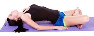 Matsyasana,fish pose