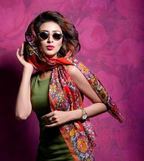 Bidya Sinha Saha Mim Bengali Model Stills Hot In Green Dress
