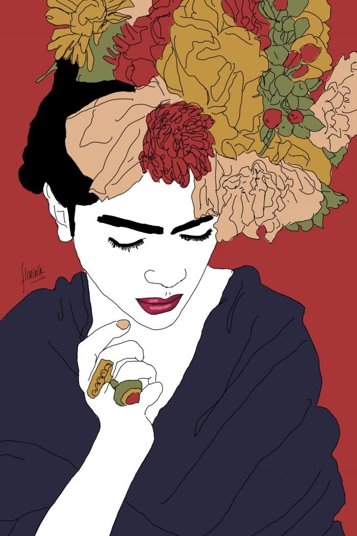 Проект под названием Фрида Кало. Florina
