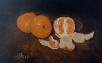 Orange Painting