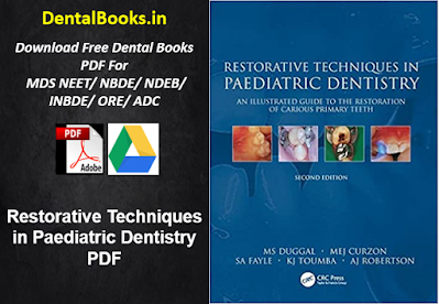 Restorative Techniques in Paediatric Dentistry PDF