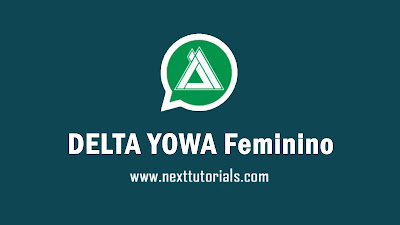 Download DELTA YOWA Feminino v3.5.1,delta yowhatsApp fem v3.5.1 latest version 2020,aplikasi wa mod anti ban terbaik 2020, tema delta yowa keren