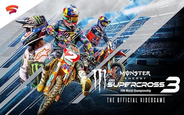 تحميل لعبة Monster Energy Supercross 3 مجانا للكمبيوتر
