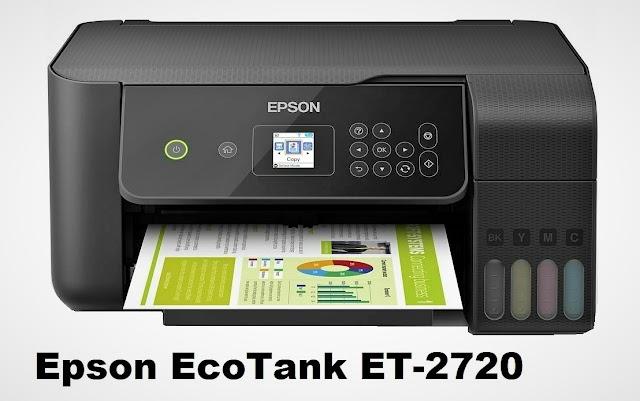 Epson EcoTank ET-2720 All-in-One wireless inkjet printer specs