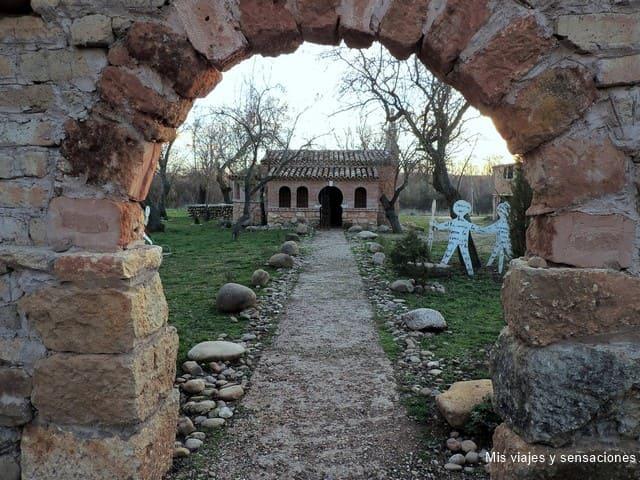 Territorio Artlanza, la escultura más grande del mundo, Quintanilla del agua, Burgos