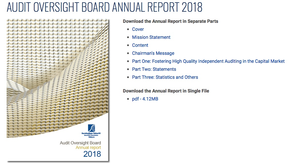 Hasyudeen: AOB Annual Report 2018