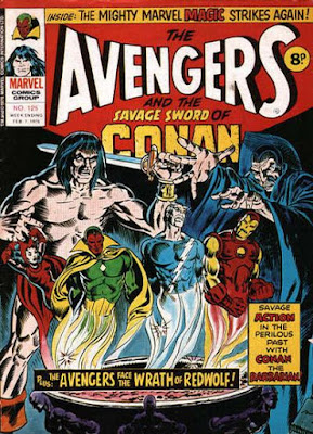 Marvel UK, Avengers #125, Conan
