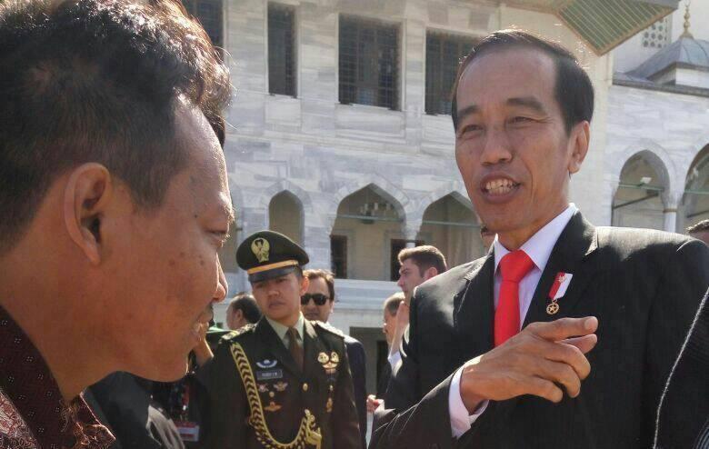 Bertemu Dengan Presiden RI Pak Jokowi Di Turki