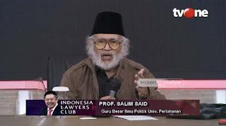 Soal Kebangkitan PKI di Indonesia, Prof Salim Said Punya Pernyataan Tegas