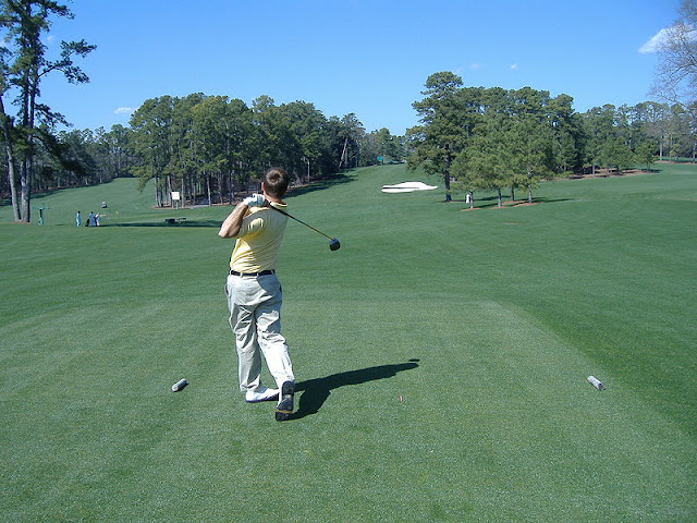 View of the 8th hole at Augusta National Golf Club