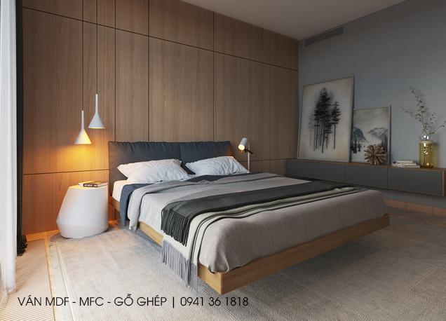 thiết kế phòng ngủ chủ đề bầu trời đêm