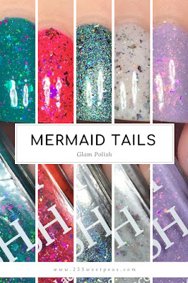 Glam Polish Mermaid Tails Limited Edition Collection