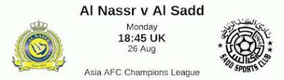 مشاهدة مباراة النصر السعودي والسد القطري بث مباشر اليوم 26-8-2019 في دوري ابطال اسيا