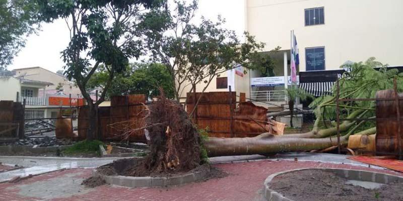 Chuva provoca estragos em municípios do Espírito Santo