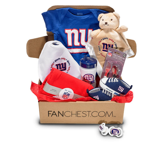 new york giants baby gift