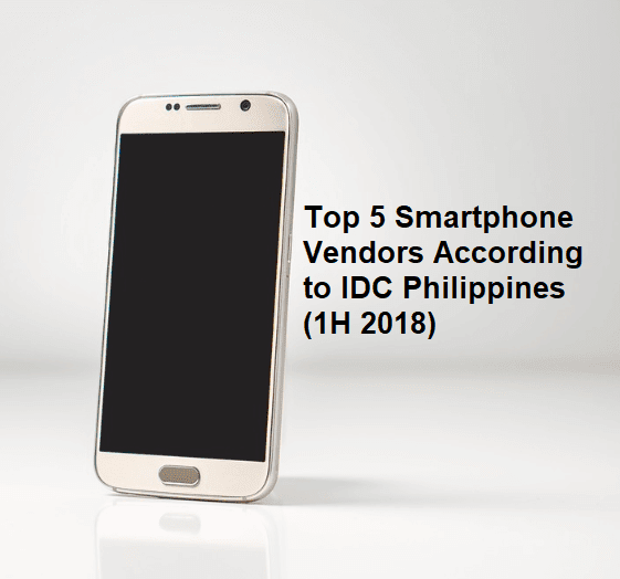Top 5 Smartphone Vendors According to IDC