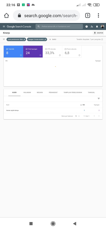 Cara memasang Google search console