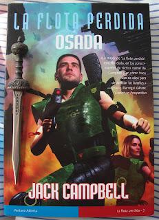 Portada del libro Osada, de Jack Campbell