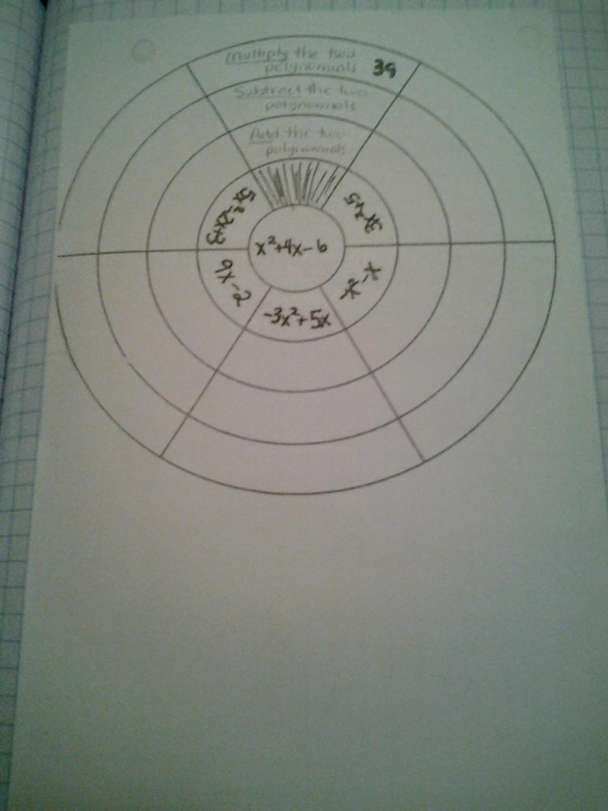 Bulls Eye Worksheet