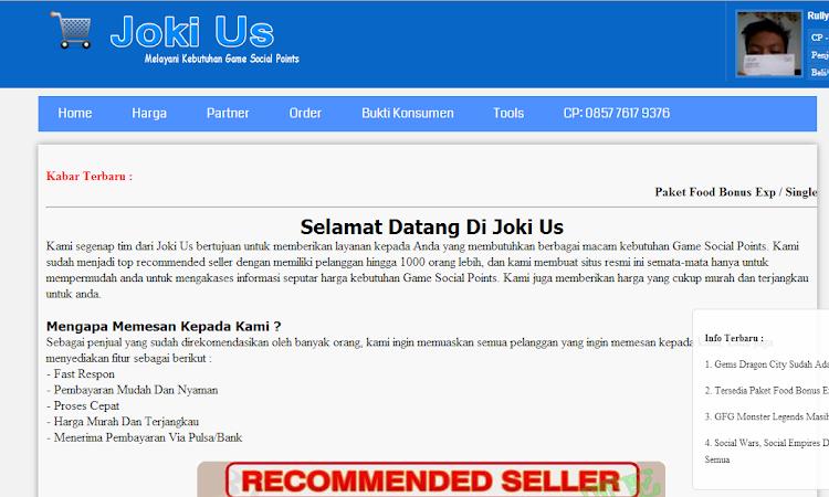 Free Download Script Official Webshop Penjoki