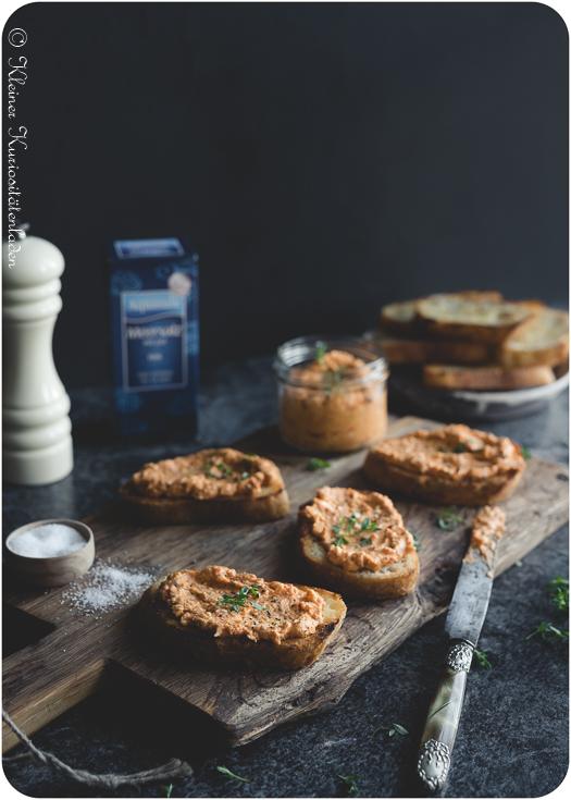 Ratatouille-Feta-Creme