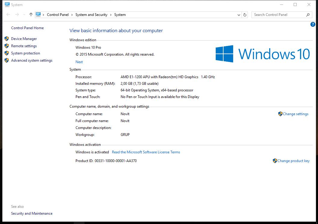 windows 10 enterprise product key 2017