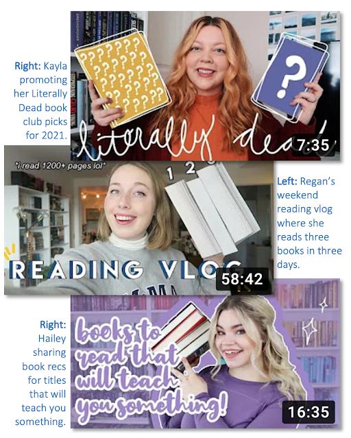 Jactionary Popular BookTubers