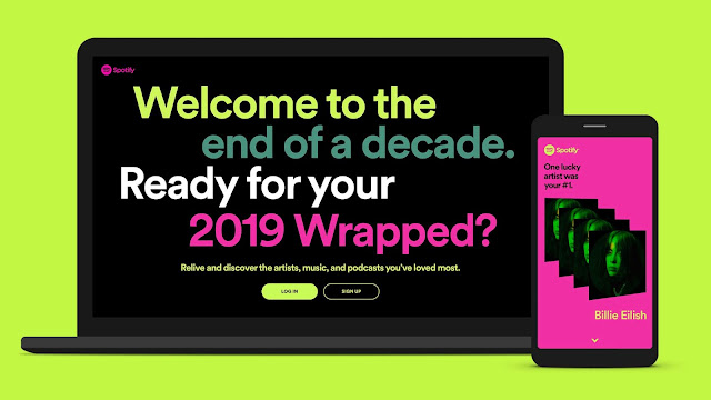 K-Clique Menggunguli Carta Spotify Wrapped 2019