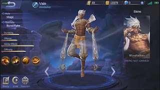 Build Item Vale Mobile Legends Terbaik