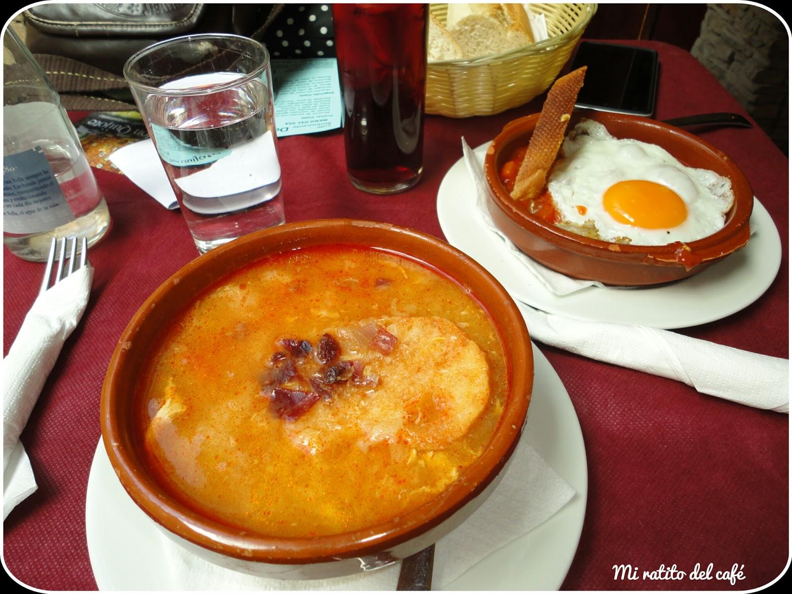 Mi ratito del caf escapada a salamanca ii restaurantes - Sopa castellana casera ...