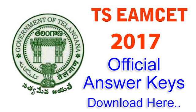 TS EAMCET 2017: Official answers keys Download