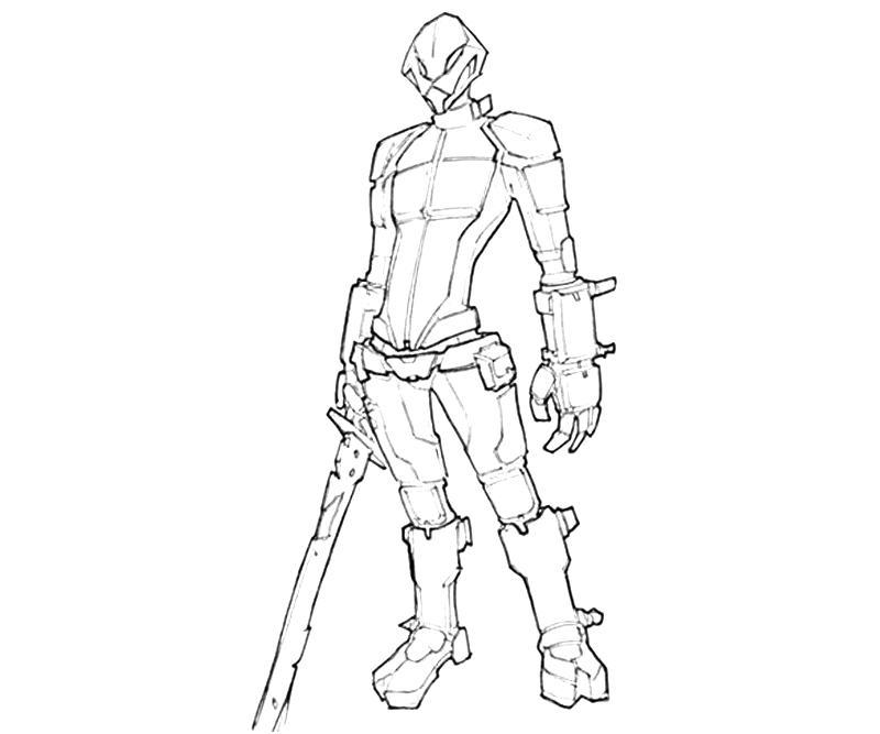 Borderlands 2 Zer0 Characters | Yumiko Fujiwara